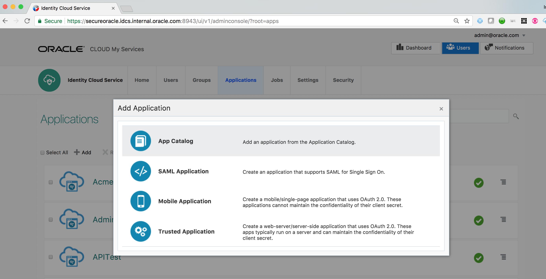 IDCS Fusion Apps Integration
